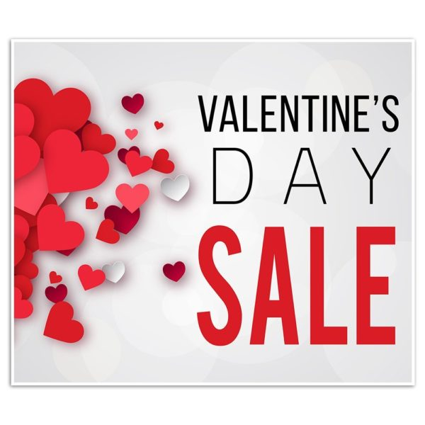 Valentines Day Sale flyer