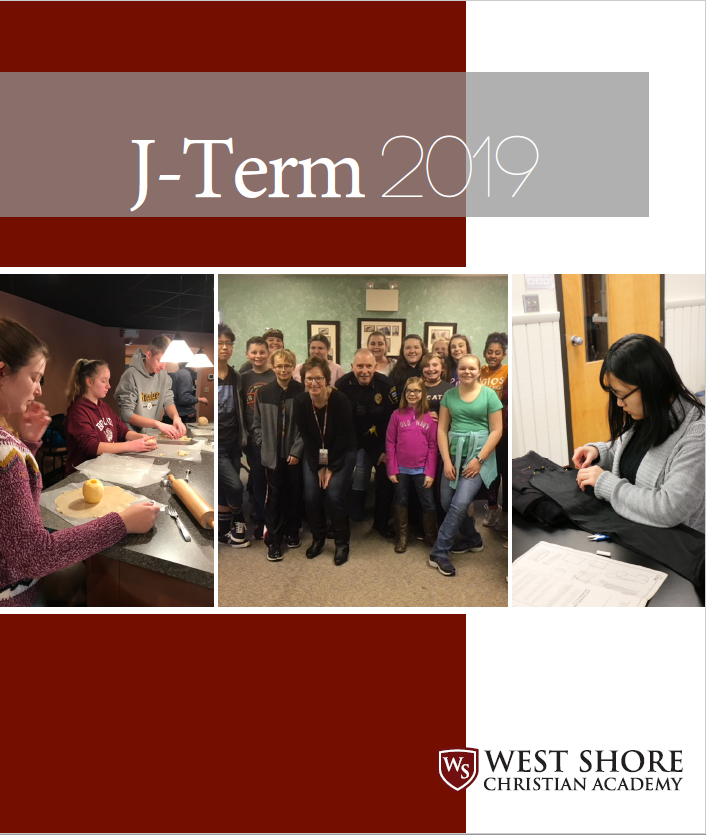 J-Term Course Guide Front Page