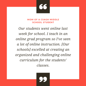 Quote about excellence in online education